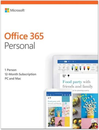 Microsoft Office 365 Personal on Amazon