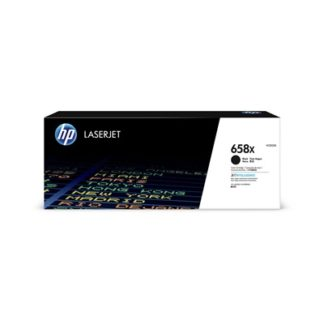 HP 658X High Yield Black Original LaserJet Toner Cartridge £343.2