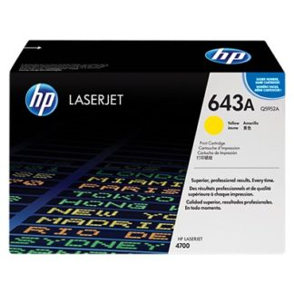 HP 643A Yellow Original LaserJet Toner Cartridge £280.8