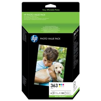 HP 363 Series Photo Value Pack-150 sht/10 x 15 cm £80.99