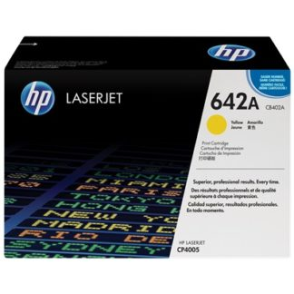 HP 642A Yellow Original LaserJet Toner Cartridge £246
