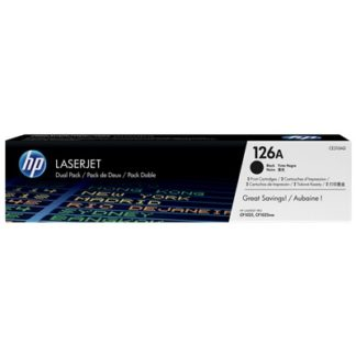 HP 126A 2-pack Black Original LaserJet Toner Cartridges £78