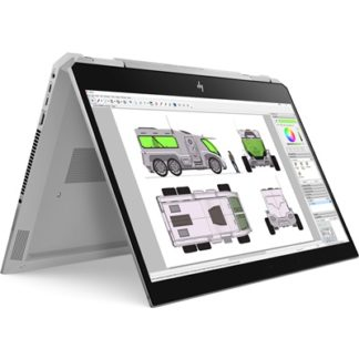 HP ZBook Studio x360 4K Convertible Workstation with i7 & NVIDIA Quadro P1000 4GB Graphics £2266.8
