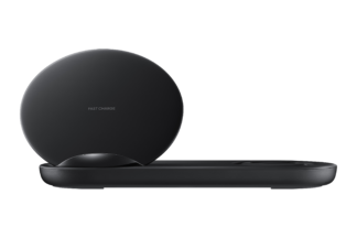 Samsung Black Wireless Charger Duo (inc. mains adaptor)